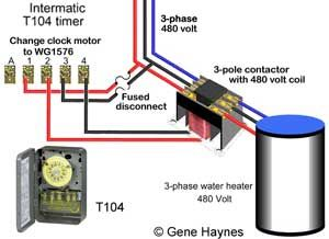 How To Wire Water Heater Thermostats Water Heater Thermostat Heater Water Heater