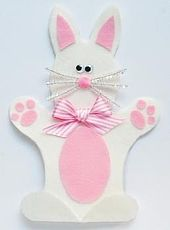 easter crafts puppet