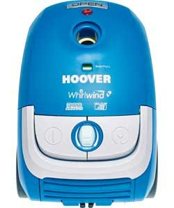 hoover whirlwind bagged cylinder vacuum cleaner