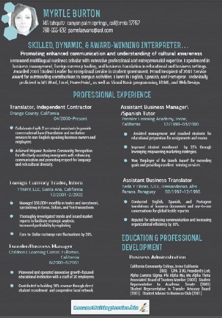 Professional Resume (presume0304) on Pinterest