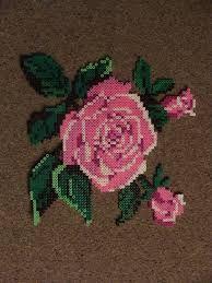 Billedresultat For Hard Perler Beads Flower Perler Patterns