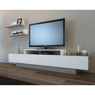 George Oliver Lemington Entertainment Center For Tvs Up To 60 Wayfair In 2020 Modern Tv Wall Units Floating Entertainment Center Solid Wood Tv Stand