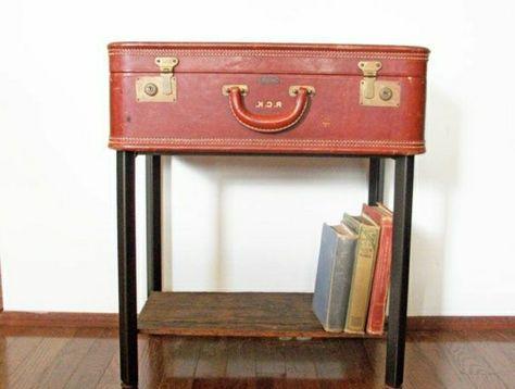 60 idees avec la valise vintage archzine fr