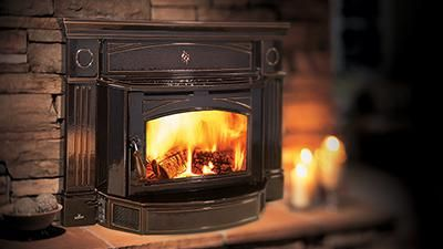 Slides Easily Into Your Existing Fireplace Turning Your Drafty