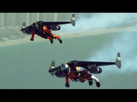 Birdman Fly Over Dubai Sky HttpsyoutubeBaNZzUgOpg Flying - Crazy video of two guys flying jetpacks over dubai