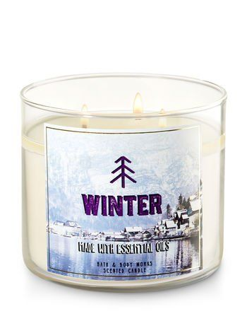 Bath and Body Works Candle Winter Fragrance 3 Wick 14 5