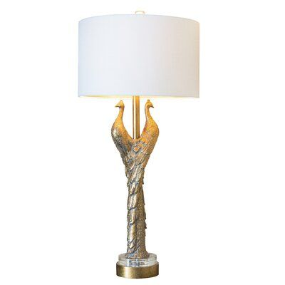 Couture Inc Golden Glamour 39 Gold Table Lamp Gold Table Lamp Table Lamp Lamp