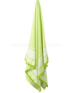 Large Beach Towel Pool Solid Cabana Stripe 4 Piece 30x60 Inches By