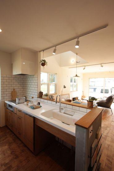 キッチン おしゃれまとめの人気アイデア Pinterest Mayu Shimoda キッチン リフォーム マンション リビング キッチン キッチンデザイン