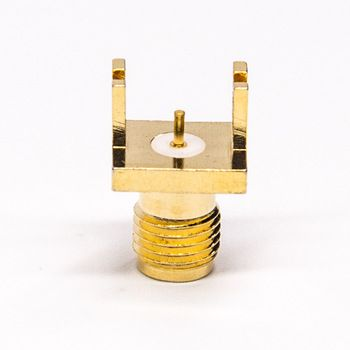 Edge Mount Straight Rf Sma Jack Connector Pcb Mount Connector Candle Holders Technology