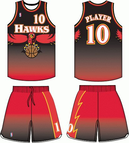 6b105513bc1 ... 50% off free shipping atlanta hawks road uniform 1996 1999 atlanta  hawks all jerseys and