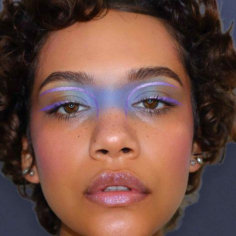 Eye Makeup Art, Cute Makeup, Pretty Makeup, Skin Makeup, Makeup Inspo, Makeup Inspiration, Weird Makeup, Mask Makeup, Makeup Ideas