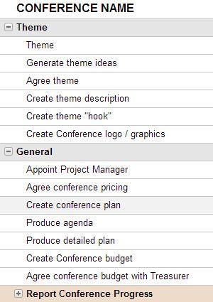 Use the Event Plan and Budget Template on Smartsheet to help - seminar planning template