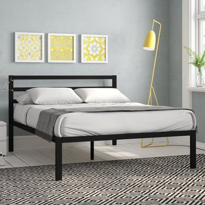 Frame Material Metal Assembly Required Dorset King Size Low Foot End Bed Frame With Headboard Black Bed Frame Draperies