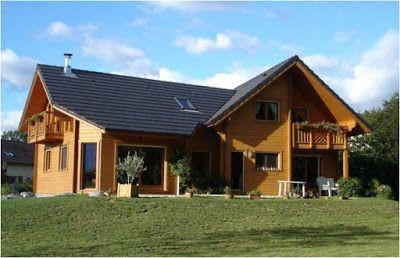 Metre Et Cout Construction D Une Maison En Bois Feuille Excel Xls House In The Woods House Styles House