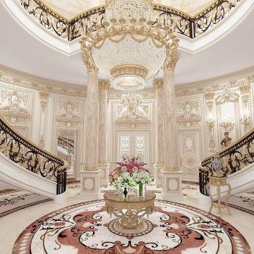 Royal Entrance Interior Kenya Mansion Interior Luxury Mansions