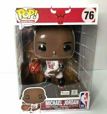 Ebay Ad Url Michael Jordan 10 Inch Funko Pop Footlocker Exclusive 76 White Jersey In 2020 Jordan 10 White Jersey Michael Jordan