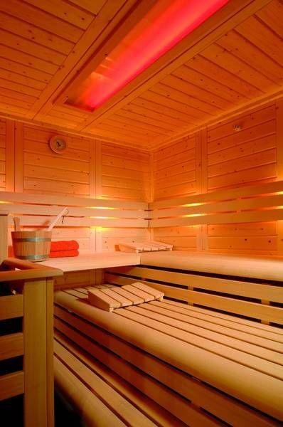 bilder von sauna modellen für privat wellness, zu hause und hotel ... - Sauna Designs Zu Hause