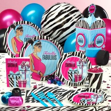 African American Baby Shower Omg I Love This Party Ideas Zebra