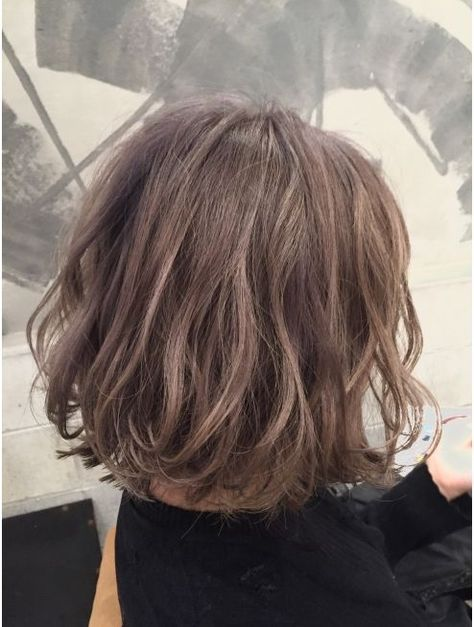 ボブヘア くせ毛で広がる人でも似合う髪型20選 ボブヘア ヘア