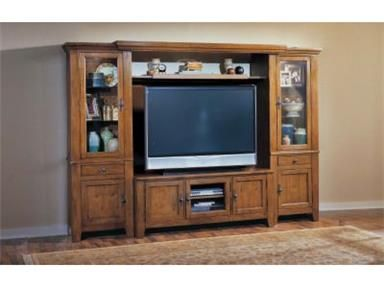 Shop For Broyhill Attic Heirlooms Entertainment Wall 3597 Entwall