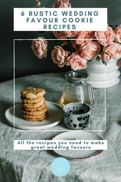 Cookies and biscuits make the best diy wedding favours. They are delicious, cheap and often quite easy to make. So here are 6 ideas to get you started on your wedding favour cookies.