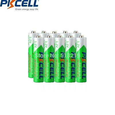 Ad Ebay Link 10pcs Pkcell Aaa Battery 600mah 1 2v Ni Mh Aaa Rechargeable Battery Low Self Dis Rechargeable Batteries Solar Led Lights Aaa Batteries