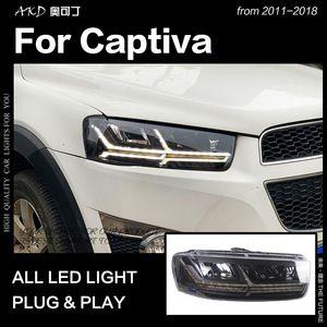 Akd Car Styling Head Lamp For Chevrolet Captiva Headlights 2011 2018 Captiva Led Headlight Led High Beam Low Beam Dynamic Signal 2020