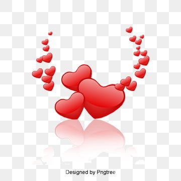 Red Heart Cartoon Heart Outline Heart Clipart Red Heart Hand Painted Png Transparent Clipart Image And Psd File For Free Download Love Heart Love Png Heart Decorations
