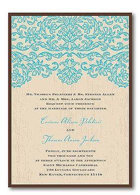 21 best wedding miscellaneous images on pinterest wedding turquoise wedding invitations filmwisefo