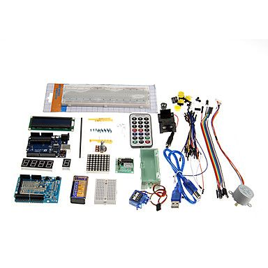 Arduino Kit Module Sensor with 0.96 OLED 1602 LCD Display,Relay,Servo Motor,DHT11,Ultrasonic,Obstacle Avoidance Module for Arduino UNO R3 Mega2560 Nano Raspberry Pi Starter Projects English Tutorial