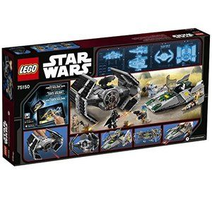 LEGO Star Wars A-wing from Vader/'s TIE Advanced vs A-wing Starfighter 75150
