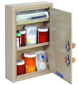 Keep Your Medicine And Expensive Medical Supplies Safely Stored Inside The Compact Locking Medicine Cabinet Medical Cabinet Medical Equipment Storage Medical