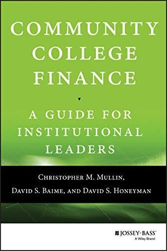 Community College Finance: A Guide for Institutional Leaders - Default
