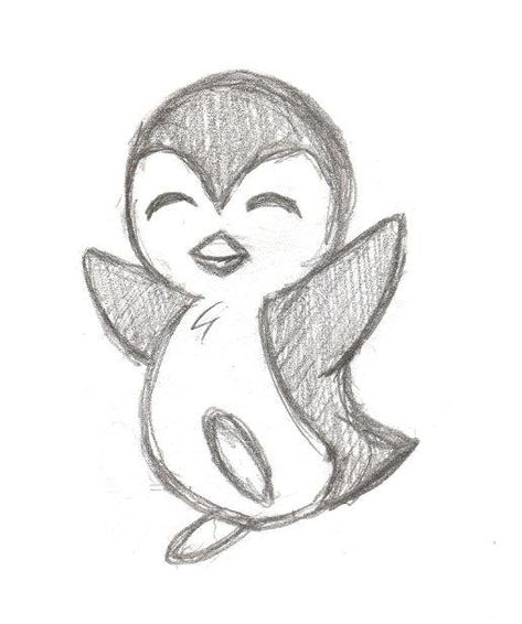 Part II of my new Penguin series. Part I: Btw, every penguin took my about 2 min... - #pencilart