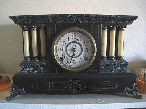 Antique Seth Thomas Mantel Clock Antique Mantel Clocks Antique