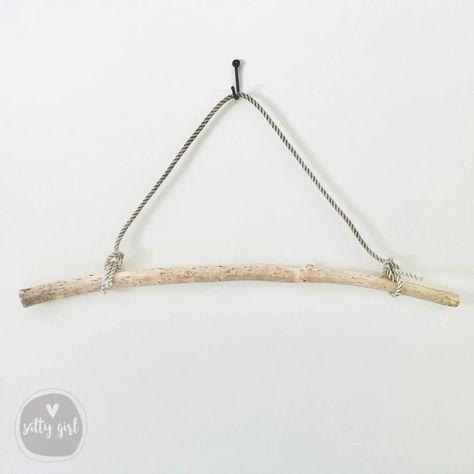 Beautiful Strong Driftwood 17.2/'/' 44cm Wooden Stick Driftwood Dowel Macrame Rod Driftwood Stick Driftwood Sun Catcher Mobile DIY