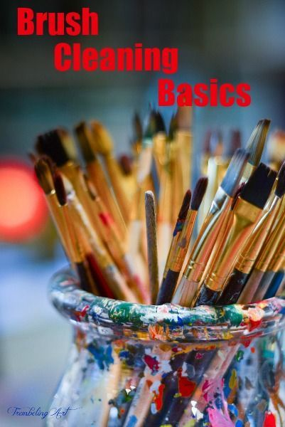How To Clean Your Artist Brushes To Make Them Last Art Studio