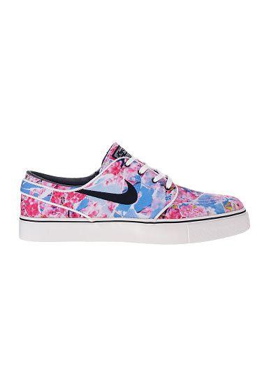 Nike SB Zoom Stefan Janoski CNVS PRM Sneaker pink blau im