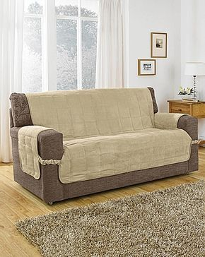 Faux Suede Furniture Protector Diy Sofa Cover