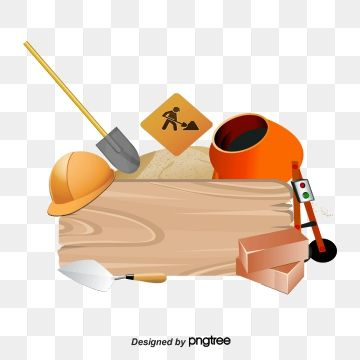 Vector Construction Tools Building Building Tools Cartoon Construction Tools Png Transparent Clipart Image And Psd File For Free Download Construction Tools Home Logo Graphic Design Background Templates