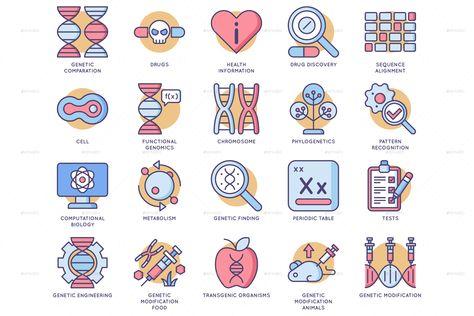 Biotechnology Icons
