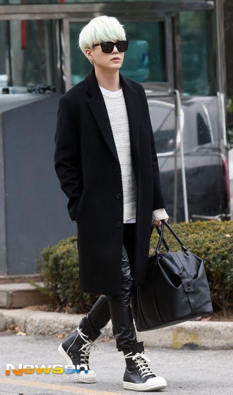 Min Yoongi { Pinterest: aubreeweaver }