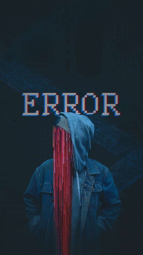 Error Iphone Wallpaper Free Getintopik In 2020 Glitch