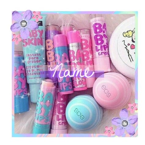 Make up. Make up. Make up. Make Up Tools, Makeup Bag Essentials, Eos Lip Balm, Lip Balms, Cute Makeup, Lip Care, Pink Lips, Beauty Make Up, Beauty Tips