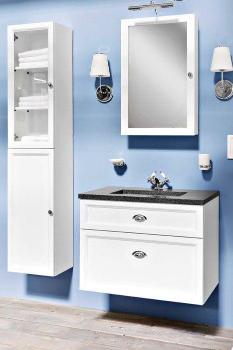 Spiegelschrank Residenz Classic In 2020 Spiegelschrank Hochschrank Waschtischunterschrank