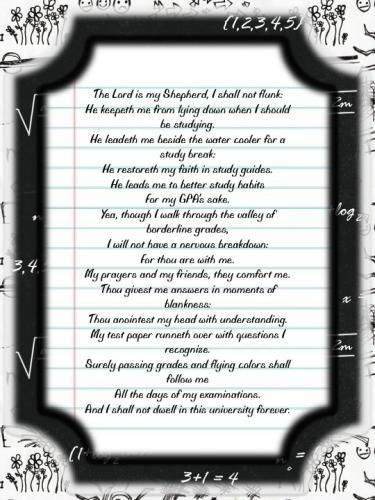 Finals Week Christmas Poem : finals, christmas, Funny, Poems, About, Finals
