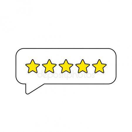 Feedback Or Rating Rank Level Of Satisfaction Rating Five Stars Customer Prod Aff Rank Level Feedback Ra Vector Illustration Star Rating Feedback