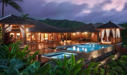House Ideas Exterior Tropical Dream Homes 41 Ideas Bali Style Home Tropical Architecture Tropical Architecture Design