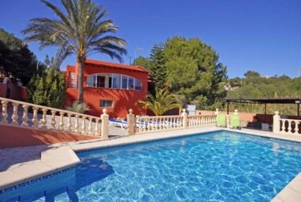 Villa Willy, Moraira, Costa Blanca Spain Villa in Beach